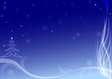 Tarjeta de Navidad #3 stock de ilustración