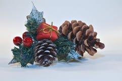 Tarjeta de Navidad 3 Fotografía de archivo libre de regalías