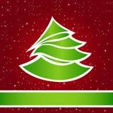 Tarjeta de Navidad ?1 Foto de archivo libre de regalías