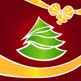 Tarjeta de Navidad ?2 Foto de archivo