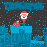 Tarjeta de Navidad 6 Foto de archivo libre de regalías