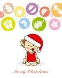 Tarjeta de Navidad Foto de archivo
