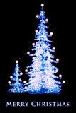 Tarjeta de Navidad Fotografía de archivo libre de regalías