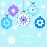 Tarjeta de Navidad Imagenes de archivo