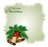 Tarjeta de Navidad abstracta Imagenes de archivo