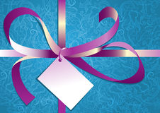 Tarjeta de Navidad con amor Foto de archivo libre de regalías