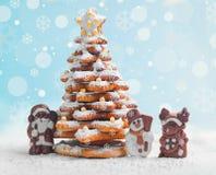 Tarjeta de Navidad del Año Nuevo Imagen de archivo