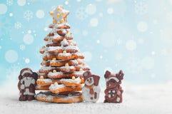 Tarjeta de Navidad del Año Nuevo Imágenes de archivo libres de regalías