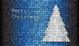 Tarjeta de Navidad del mosaico Fotos de archivo