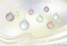 Tarjeta de Navidad del vector Foto de archivo