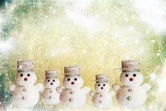 Tarjeta de Navidad del vintage Foto de archivo libre de regalías