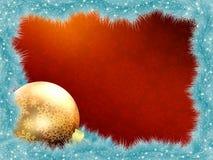 Tarjeta de Navidad elegante. EPS 8 Foto de archivo libre de regalías