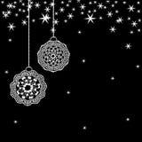 Tarjeta de Navidad - EPS 10 Fotografía de archivo libre de regalías