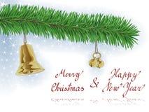 Tarjeta de Navidad/fondo Imagen de archivo