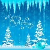 Tarjeta de Navidad Fondo Imágenes de archivo libres de regalías