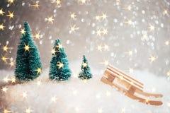 Tarjeta de Navidad hermosa Imágenes de archivo libres de regalías