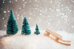 Tarjeta de Navidad hermosa Imagenes de archivo