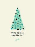 Tarjeta de Navidad Ilustración del vector Foto de archivo libre de regalías
