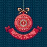 Tarjeta de Navidad Joyeux Noel Noel feliz decoración Fotos de archivo libres de regalías