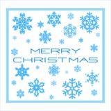 Tarjeta de Navidad de la plantilla Imagenes de archivo
