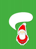 Tarjeta de Navidad linda Imagenes de archivo