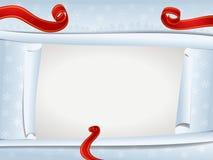 Tarjeta de Navidad/marco Fotos de archivo libres de regalías