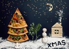 Tarjeta de Navidad. Naturmort Fotos de archivo libres de regalías