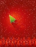 Tarjeta de Navidad, vector Imagen de archivo libre de regalías