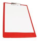 Tarjeta de papel roja Imagen de archivo libre de regalías