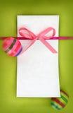 Tarjeta de pascua Foto de archivo libre de regalías