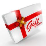 Tarjeta de regalo stock de ilustración