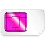 Tarjeta de Sim Imagenes de archivo