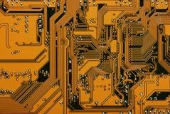 Tarjeta de sistema electrónica Foto de archivo libre de regalías