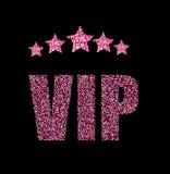 Tarjeta de situación del VIP Imagen de archivo