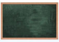Tarjeta de tiza en blanco Imagen de archivo libre de regalías