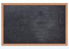Tarjeta de tiza en blanco Imagen de archivo