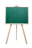 Tarjeta de tiza verde en marco de madera Imágenes de archivo libres de regalías