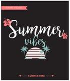 Tarjeta de verano/fondo Foto de archivo libre de regalías