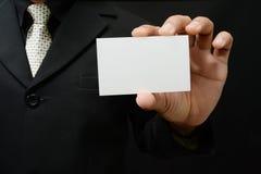 tarjeta de visita Imágenes de archivo libres de regalías