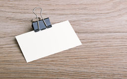 Tarjeta de visita Imagen de archivo libre de regalías