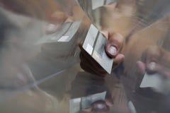 Tarjeta de visita Fotografía de archivo libre de regalías