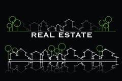 Tarjeta de visita de las propiedades inmobiliarias