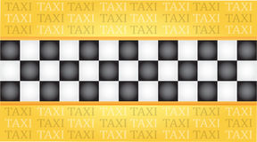 Tarjeta de visita del taxi Imágenes de archivo libres de regalías
