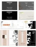 Tarjeta de visita - diseño del vector Foto de archivo libre de regalías