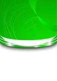Tarjeta de visita verde con la esfera Libre Illustration