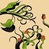 Tarjeta decorativa Imagenes de archivo