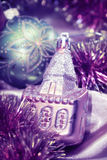 Tarjeta del Año Nuevo fotos de archivo
