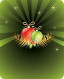 Tarjeta del Año Nuevo Fotos de archivo libres de regalías