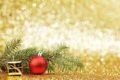 Tarjeta del Año Nuevo Imágenes de archivo libres de regalías