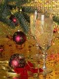 Tarjeta del Año Nuevo Imagenes de archivo
